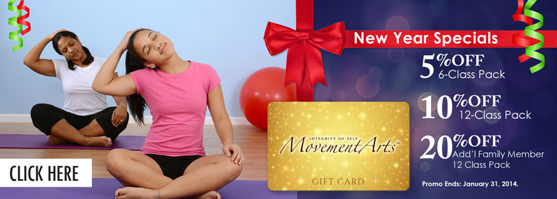Integrity of Self Movement Arts Online Banner Ad Designed by Ashalla Design Shop