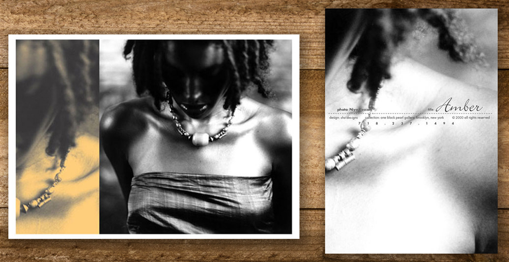 Niya Bascom Photography Postcard Designed by Ashalla Design Shop